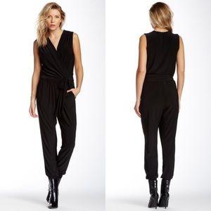 Tahari💕Black Tricia On Trend Jumpsuit Large